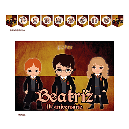 Kit Festa Harry Potter Kids