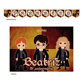 Kit Festa Harry Potter Kids
