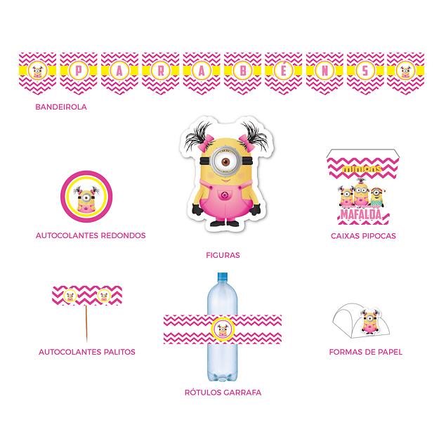 Produtos Festa Minions Menina