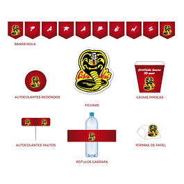 Produtos Festa Cobra Kai