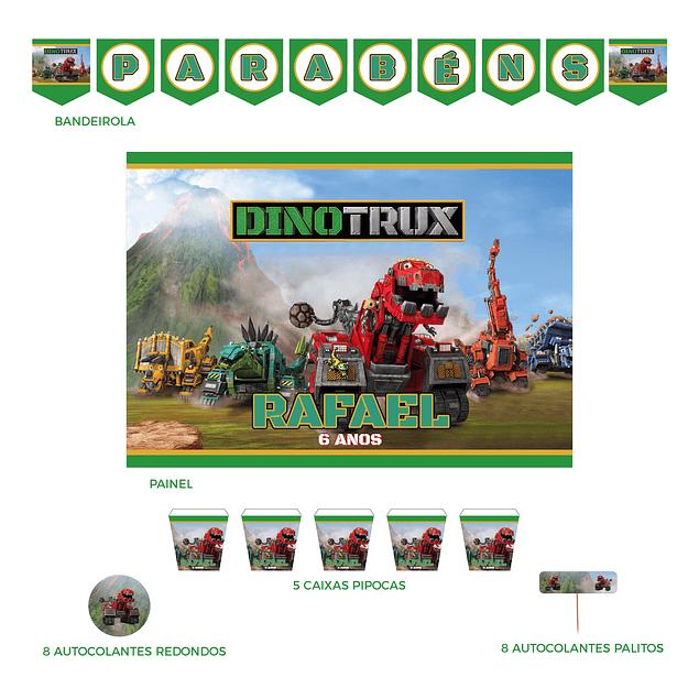 Kit Festa Dinotrux