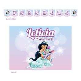 Kit Festa Princesa Jasmin 2
