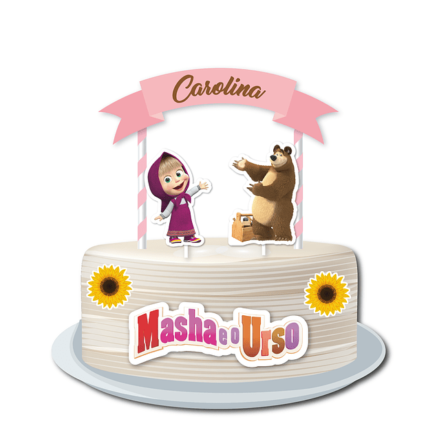 Produtos Festa Masha Menina Rosa
