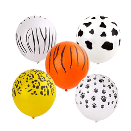 5 Balões Selva