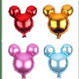 Balão Cabeça Mickey&Minnie 40x25cms