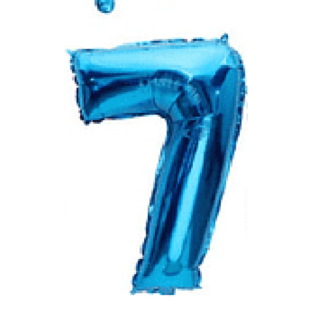 Balão Azul 80cms