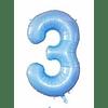 Balão Azul Bebé 99cms
