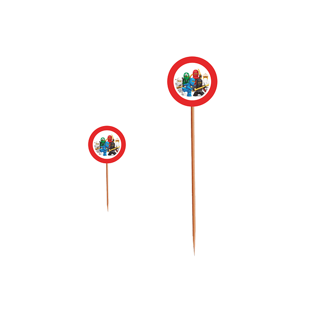 Produtos Festa Ninjago