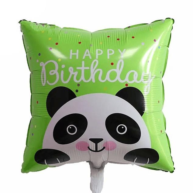 Balão Quadrado Panda