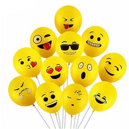 5 Balões Emojis