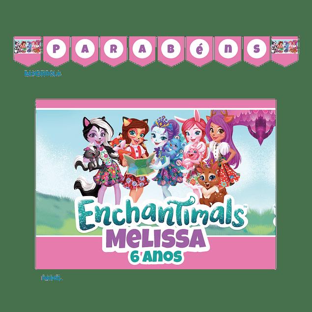 Kit Festa Enchantimals