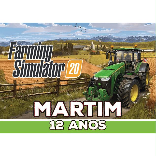 Produtos Festa Farming Simulator
