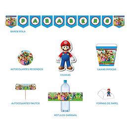 Produtos Festa Super Mario 2