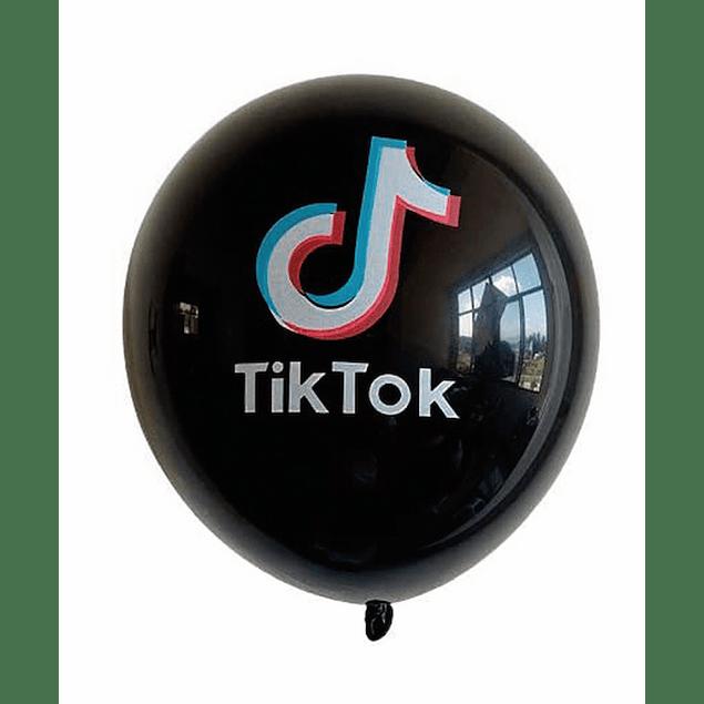 5 Balões Tik Tok