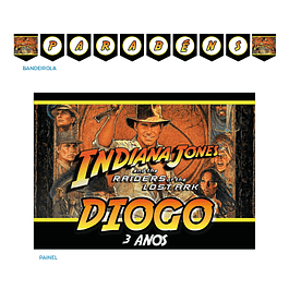 Kit Festa Indiana Jones