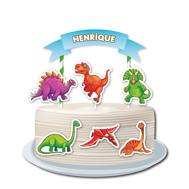 Produtos Festa Dinossauros 2