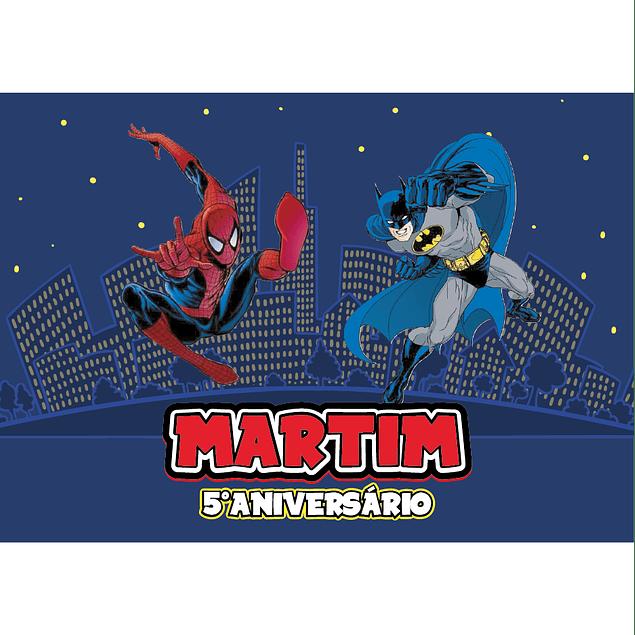 Produtos Festa Homem Aranha vs Batman