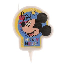 Vela Mickey 7,5cms