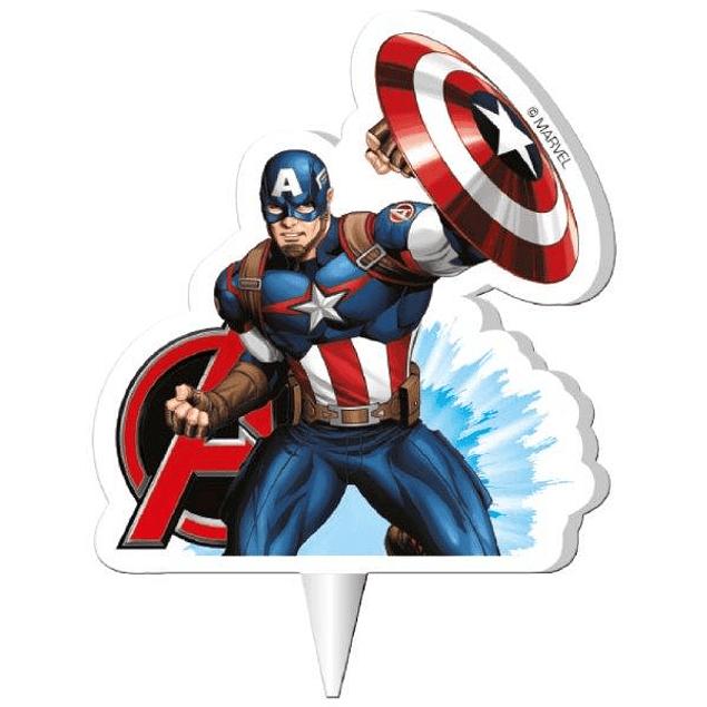 Velas Avengers 7,5cms