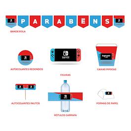 Produtos Festa Nintendo Switch