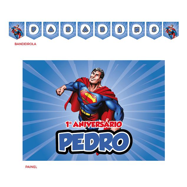 Kit Festa Super Homem