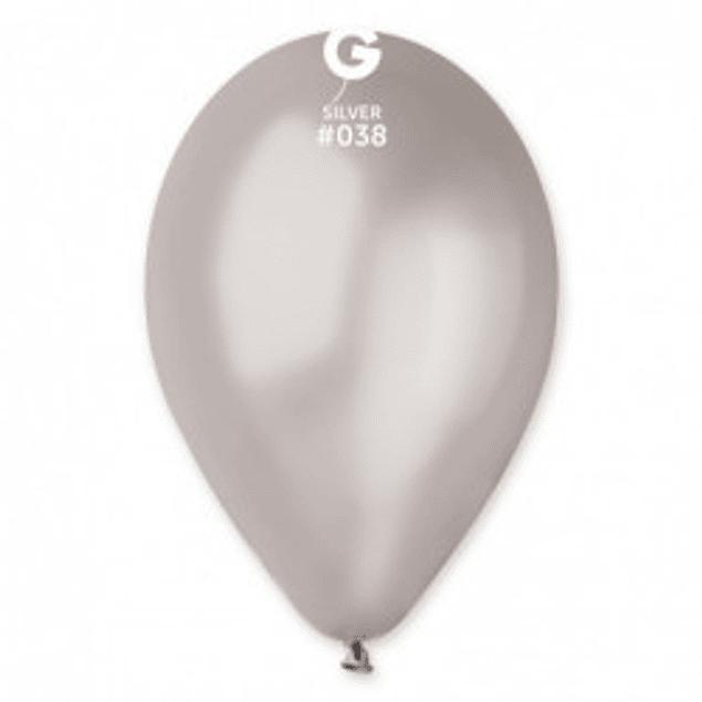 10 Balões Lisos 30CMS