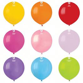 5 Balões Lisos 48CMS