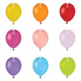 10 Balões Lisos 13CMS