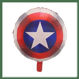 Balão Escudo Capitão América