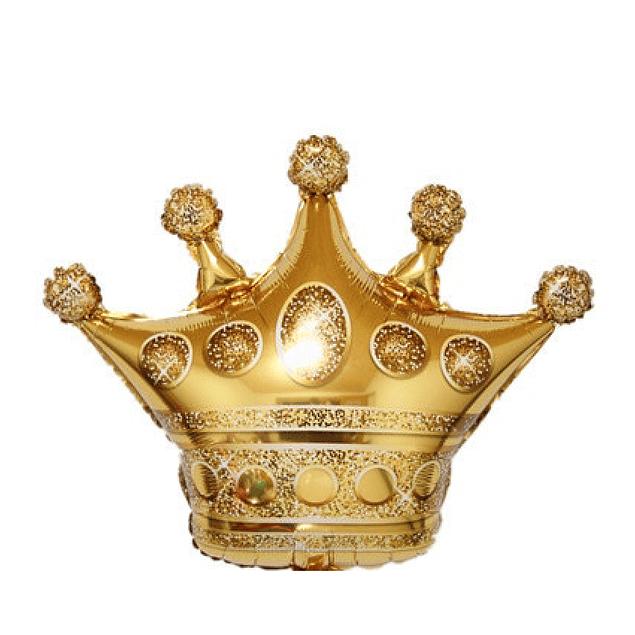 Balão Coroa 70x75cms