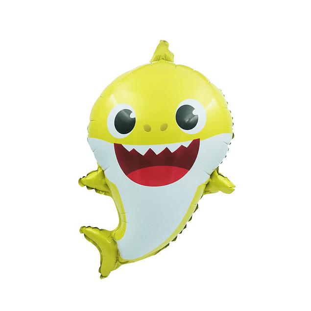 Balão Baby Shark 66x55cms