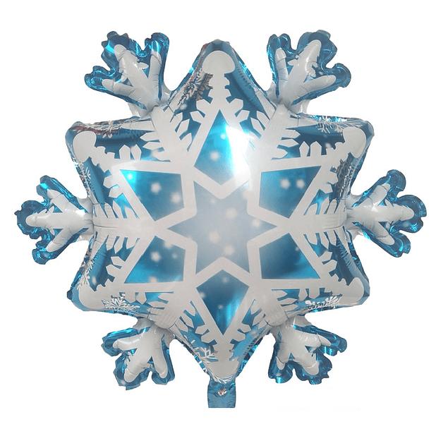 Balão Frozen Flocos de Neve 73x73cms