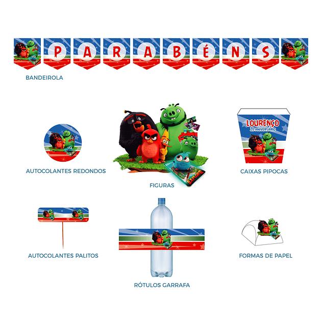 Produtos Festa Angry Birds