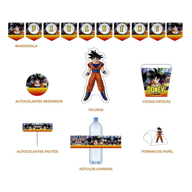 Produtos Festa Dragon Ball