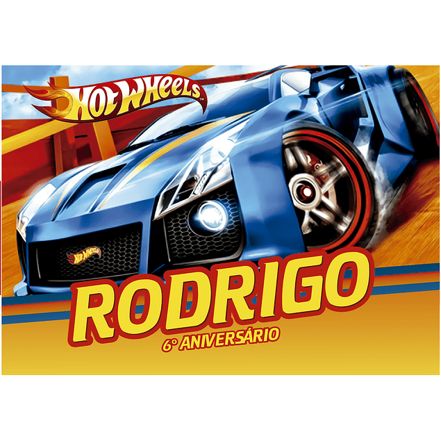 Produtos Festa Hot Wheels