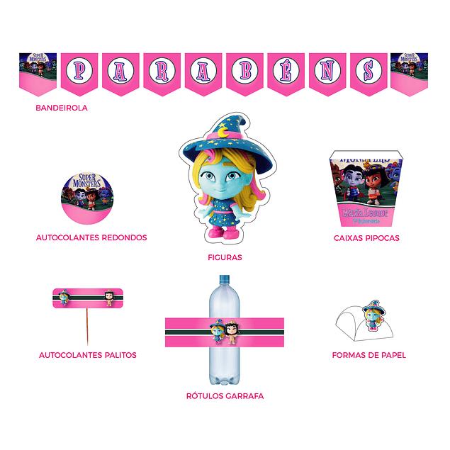 Produtos Festa Super Monstros Menina