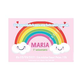 Convites Arco Íris