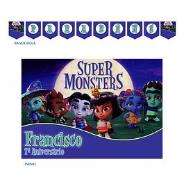 Kit Festa Super Monstros Menino