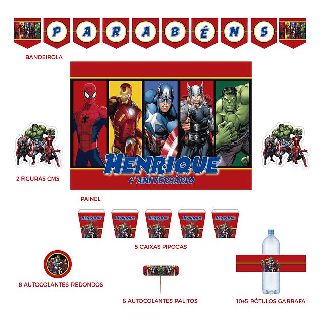 Kit Festa Avengers
