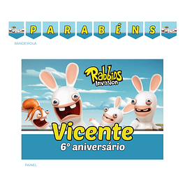 Kit Festa Rabbids