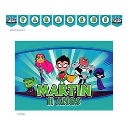 Kit Festa Teen Titans