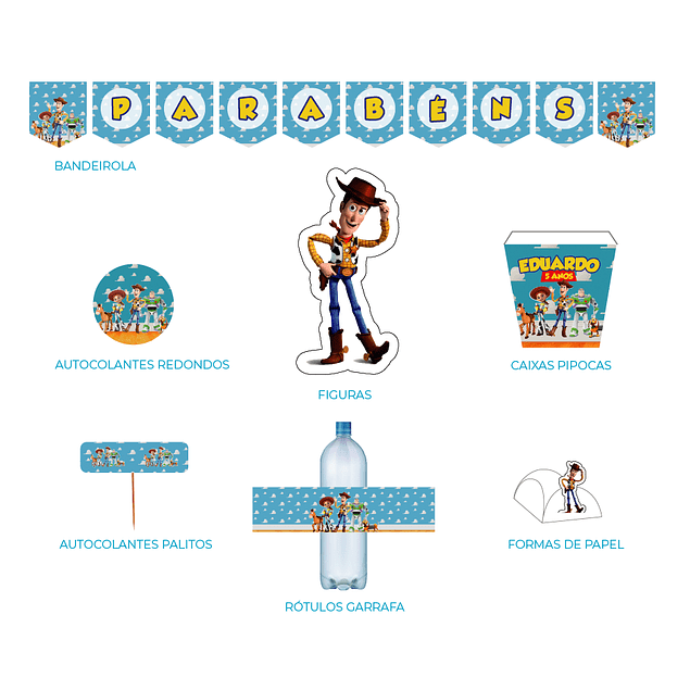 Produtos Festa Toy Story 4