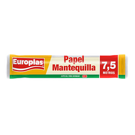 Papel mantequilla 7,5 mts