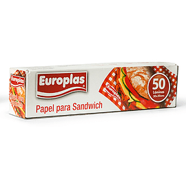 Papel para sandwich 50un