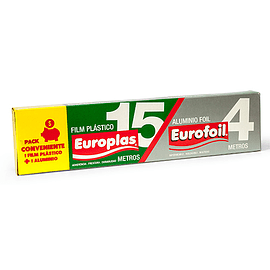 Pack Europlas 15 mts / Eurofoil 4 mts