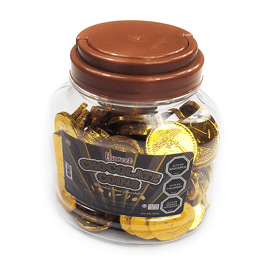 Moneda De Chocolate 100 Uni