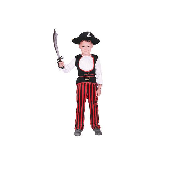 Disfraz Niño Pirata  T/7-9 1 Uni