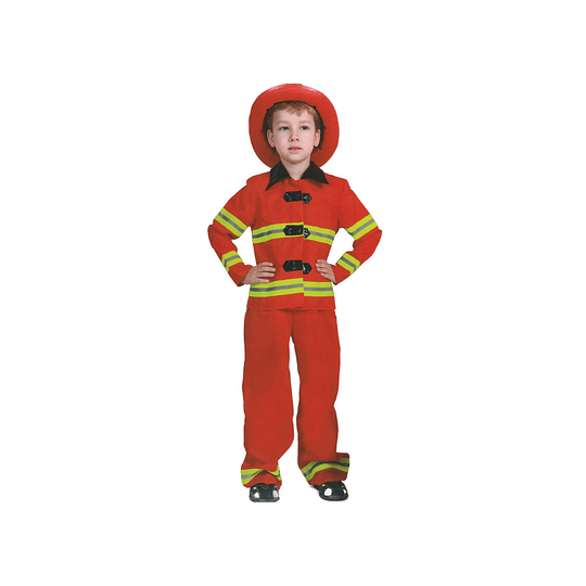 Disfraz Niño Bombero T/7-9 1 Uni