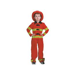 Disfraz Niño Bombero T/4-6 1 Uni