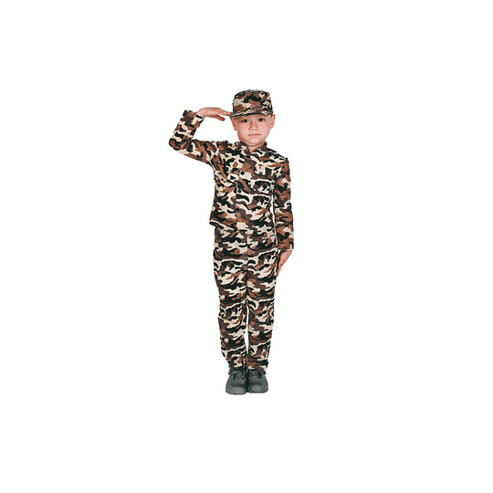 Disfraz Niño Soldado T/7-9 1 Uni